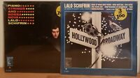 Lalo Schifrin Vinyl 2 LP Lot Bossa Nova & Broadway Hollywood In Shrink MGM Orig