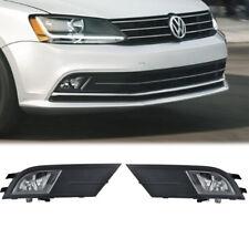 For Volkswagen VW Jetta MK4 Fog Lights Kit Bumper Lamps 2015 2016 2017
