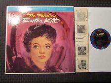 1959 The Fabulous Eartha Kitt LP EX/VG Kapp Records – KS-3046