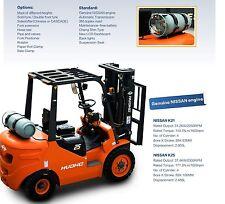 Brand New 2.5 Ton Forklift Jap Nissan K25 Engine LPG and Sideshifter