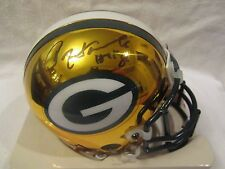 Paul Hornung Autographed Green Bay Packers Chrome Mini Helmet - Fanatics Cert
