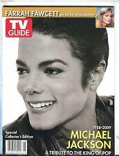 TV Guide Magazine King Of Pop Tribute 2009 Michael Jackson EX 040317nonjhe