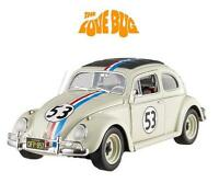 Herbie The Love Bug 1962 Volkswagon 1:18 Hot Wheels Elite Diecast Car Disney