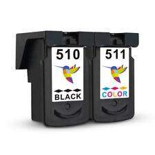 2x Tintenpatronen für Canon MP495 MP270 MX320 MP260 MX410 PG-510 XL+CL-511 XL DE