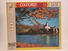 Vintage 1969 Milton Bradley Oxford Jigsaw Puzzle 750 Pc Schonbuhl Castle Austria