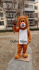 Long Fur Lion Mascot Costume Cosplay Party Outfit Outfit Advertising Fursuit