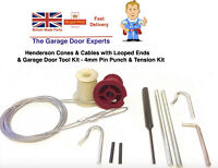 Merlin Henderson Doric Garage Door Repair Lift Wires Bobbins Parts Spares Tools