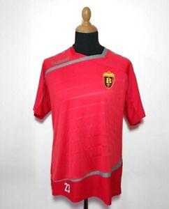 HC Vardar Skopje Jersey Hummel Handball Men's Size M/L Red Macedonia Authentic