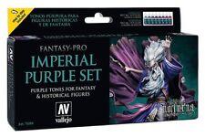 AV Vallejo Fantasy Pro - Imperial Purple Acrylic Paint Set # 74104