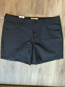 NWT Mountain Khakis Women's Cruiser Short Classic Fit Black size 12x5