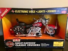 1996 Buddy L HARLEY DAVIDSON Classic Cruiser Collectible Motorcycle #5606