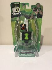 Bandai BEN 10 Ten OMNIVERSE OMNITRIX V.2 Touch Watch 2013 RARE NEW