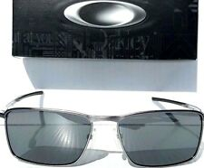 NEW* Oakley CONDUCTOR 6 Lead w POLARIZED Black Iridium Lens Sunglass 4106-02
