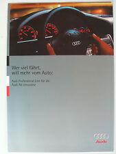 Prospekt Audi A6 Limousine Professional Line, 3.1995, 8 Seiten, folder