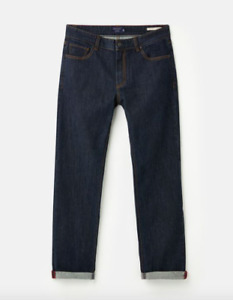 JOULES Mens Straight Leg Denim Jeans Sz 30 32 34 36 38 R or L RP£59.95 FreeUKP&P