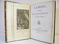 Jacques Delille. La pitié, poème avec quatre figures. An XI