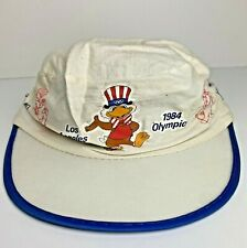 Los Angeles Olympic Games 1984 Sam The Olympic Eagle Painter Hat Red White Blue