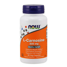 L-Carnosine, 500mg x 50 Veg Capsules - NOW Foods