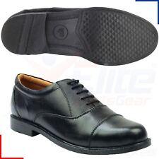Amblers Mens London Leather Oxford Lace Up Shoes - Black UK 11<