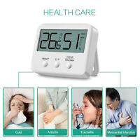 Thermometer Hygrometer Digital Zimmer Min Max Innen Luftfeuchtigkeit HH