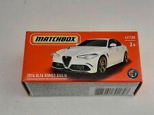 Matchbox power grab series 21. Alfa Romeo Giulia Neuf en boite. Lire descriptif