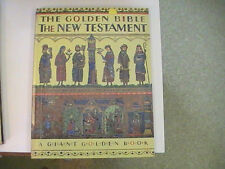 THE GOLDEN BIBLE THE NEW TESTAMENT A Giant Golden Book 1953 1st ED