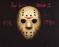 "Ari Lehman ""Jason 1"" ""F13 1980"" Autographed Friday the 13th Jason Voorhees 8x10"