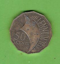2000  MILLENNIUM  AUSTRALIAN CIRCULATED 50 CENT  COIN