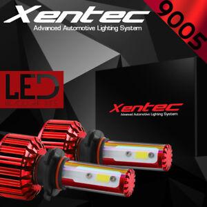 XENTEC LED HID Headlight Conversion kit 9005 HB3 6000K for 2013-2016 Ram 1500