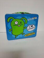 2011 UGLYDOLL Lunch Metal Box I ❤ Goodies Party Cartoon Box!! New