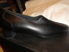 Theresia M, Dress Shoe, Phoebe, Black Leather Women Size 10 N