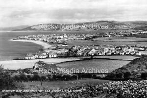 Gpo-50 Penrhyn Bay And Rhos-on-Sea From Little Orme, Wales. Photo