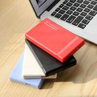 "DV_ AU_ 6Gbps 2.5"" USB 3.0 SATA 3.0 SSD HDD Enclosure External Hard Drive Case B"