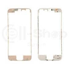 Marco Soporte Medio con Adhesivo para Pantalla iPhone 5S - Color Blanco