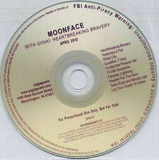 MOONFACE WITH SIINAI Heartbreaking Bravery 2012 US 10-track promo CD