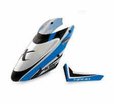 Blade Nano Ncp X - BLH3318A - Complete Blue Canopy with Vertical Fin