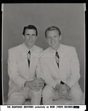 THE RIGHTEOUS BROTHERS BLUE EYED SOUL POP DUO MUSIC Original NEGATIVE 106P