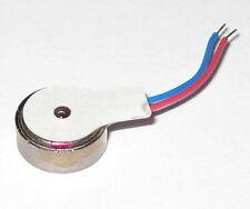 Vibrator Flat Micro Motor - 3 VDC - 8mm Dia. - For Cellphones Beepers Vibrators