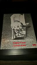Slade Slayed Rare Original Promo Poster Ad Framed!