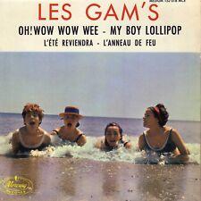 LES GAM'S MY BOY LOLLIPOP FRENCH ORIG EP JACQUES DENJEAN