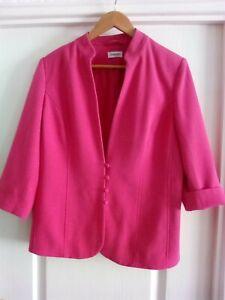 Ladies DAMART Pink Wedding Jacket size 16 In Excellent condition
