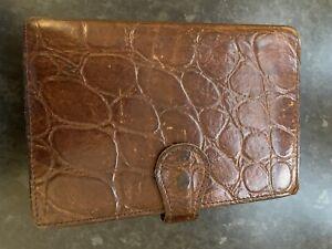 Mulberry Leather Filofax
