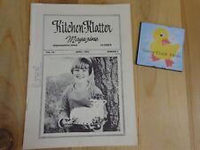 Kitchen Klatter Magazine April 1980 About The Easter Egg Arbor Day Monument