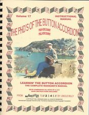 BUTTON ACCORDION INSTRUCTIONAL MANUAL, EASY LEARN/PLAY BY NUMBERS SYSTEM