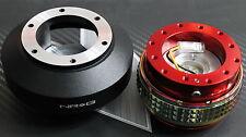 NRG STEERING WHEEL QUICK RELEASE HUB 2.1 RED-NEO for NISSAN 350Z 370Z SE-R