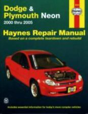 Haynes Repair Manual: Dodge and Plymouth Neon 2000 Thru 2005 by John H. Haynes,