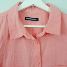 [ SPORTSCRAFT ] Womens 3/4 Sleeves Shirt / Top | Size AU 16