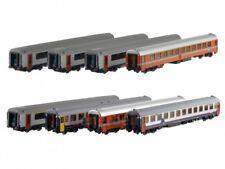 ModelsWorld MW1801 SNCB NMBS Set 8x Wagen EC 90/91 VAUBAN I10+I11 Ep5 NEU+OVP