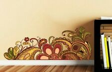 Flowers Decal, Bouquet Wall Sticker, Plant Wall Decal, Flower Garden Home Décor
