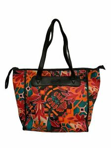 Ladies FOSSIL Floral Coated Canvas Tote Shoulder Bag 43 X 29 X 10CM  - BA8